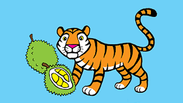 Legenda Harimau Makan Durian (Jambi)