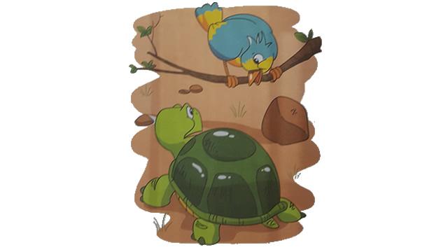 Kura-kura Dan Burung Bulbul