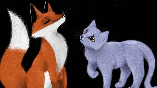 Rubah dan Kucing