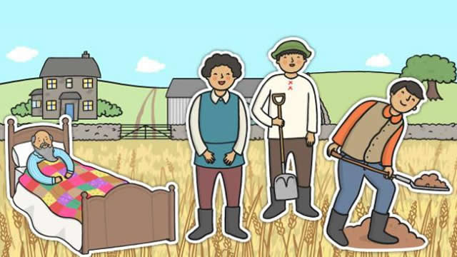 Petani dan Anak-anaknya