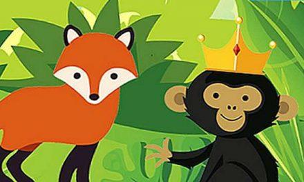 Rubah dan Monyet yang Diangkat Menjadi Raja