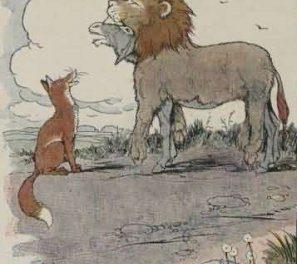 Keledai Yang Memakai Kulit Singa