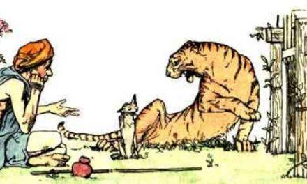 Harimau, Petapa, dan Anjing Hutan yang cerdik