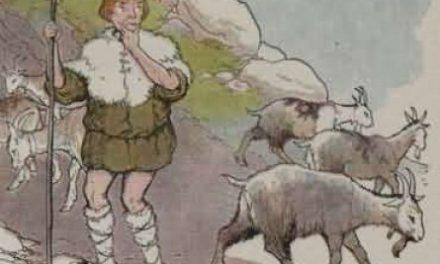 Gembala Kambing dan Kambing Liar