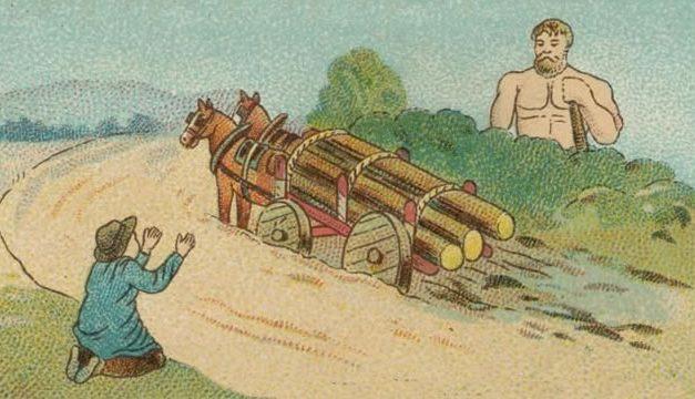 Hercules dan Pembawa Gerobak
