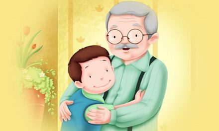 Kakek Tua dan Cucunya