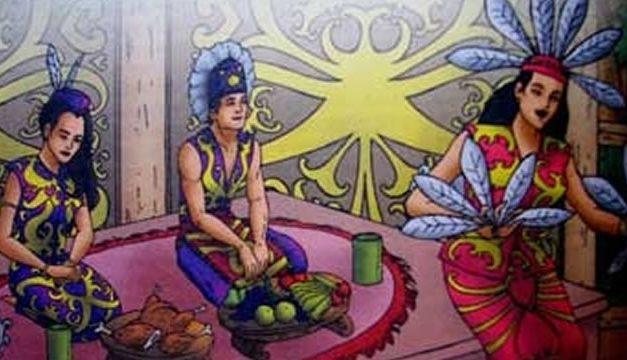 Kisah Nyapu Dan Moret (Kalimantan Timur)
