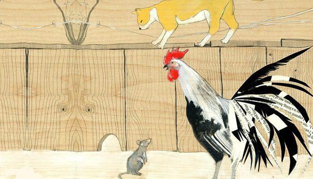 Kucing, Ayam Jantan dan Tikus Muda